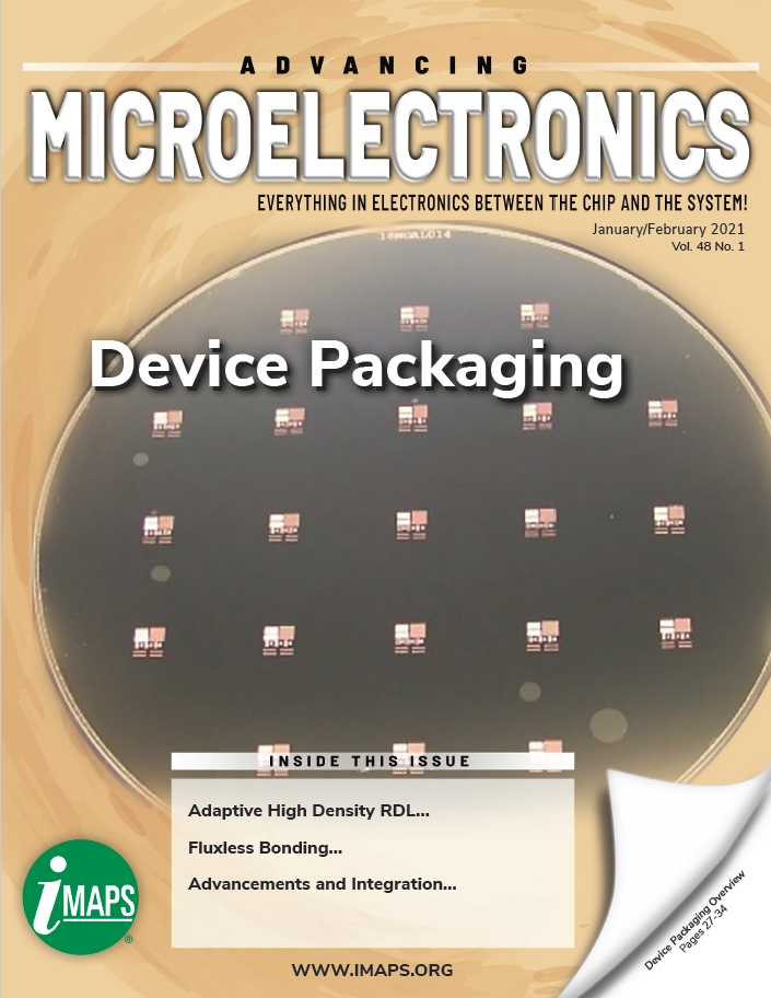 Advancing Microelectronics, Volume 28, Number 1